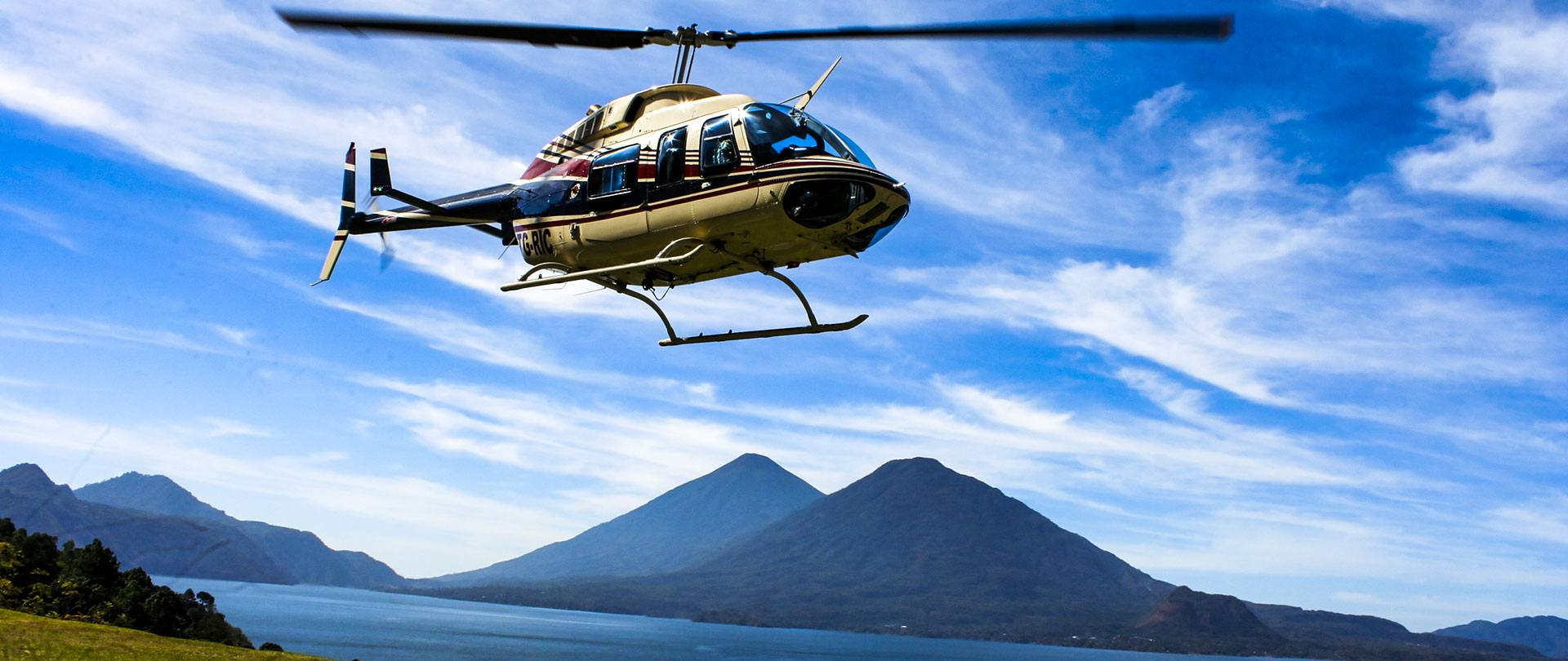 Helicopter Rides Guatemala © 2021 Authentic Travel All Rights Reserved