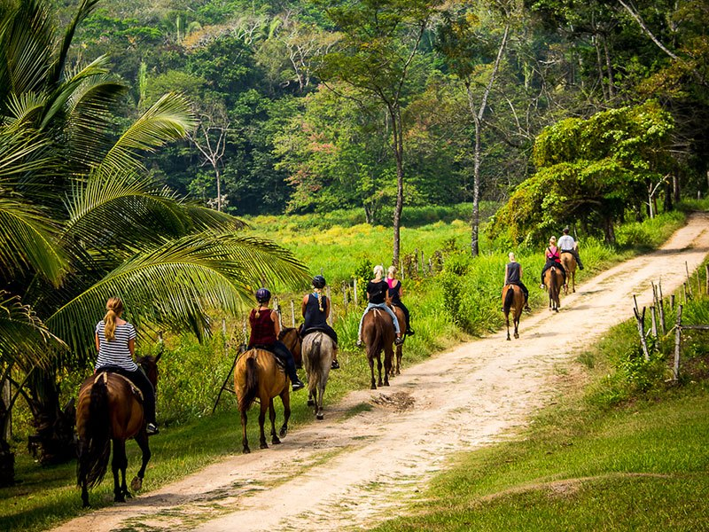 Horseback riding © Authentic Travel All Rights Reserved