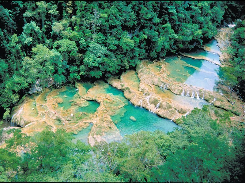 Semuc Champey © 2021 Authentic Travel All Right