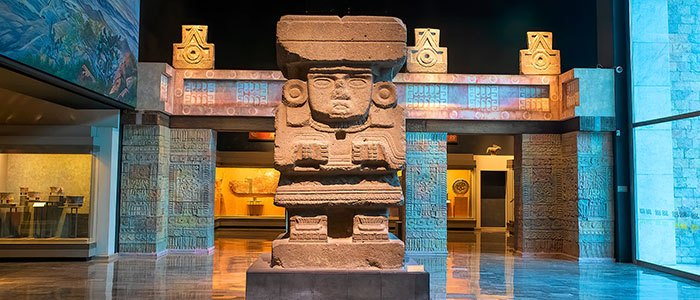 Archaeological Museoum Mexico © 2021 Authentic Travel All Rights Reserved