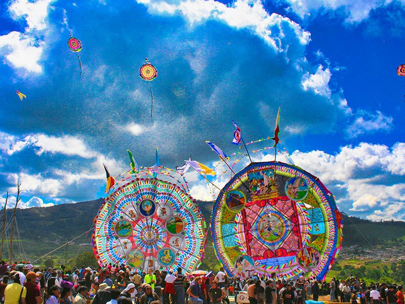 Giant Kites © 2021 Authentic Travel All Rights Reserved